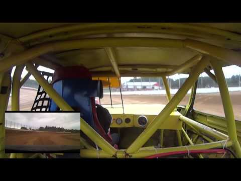 Eagle Valley Speedway Pure Stock Heat #2  7 12 2015