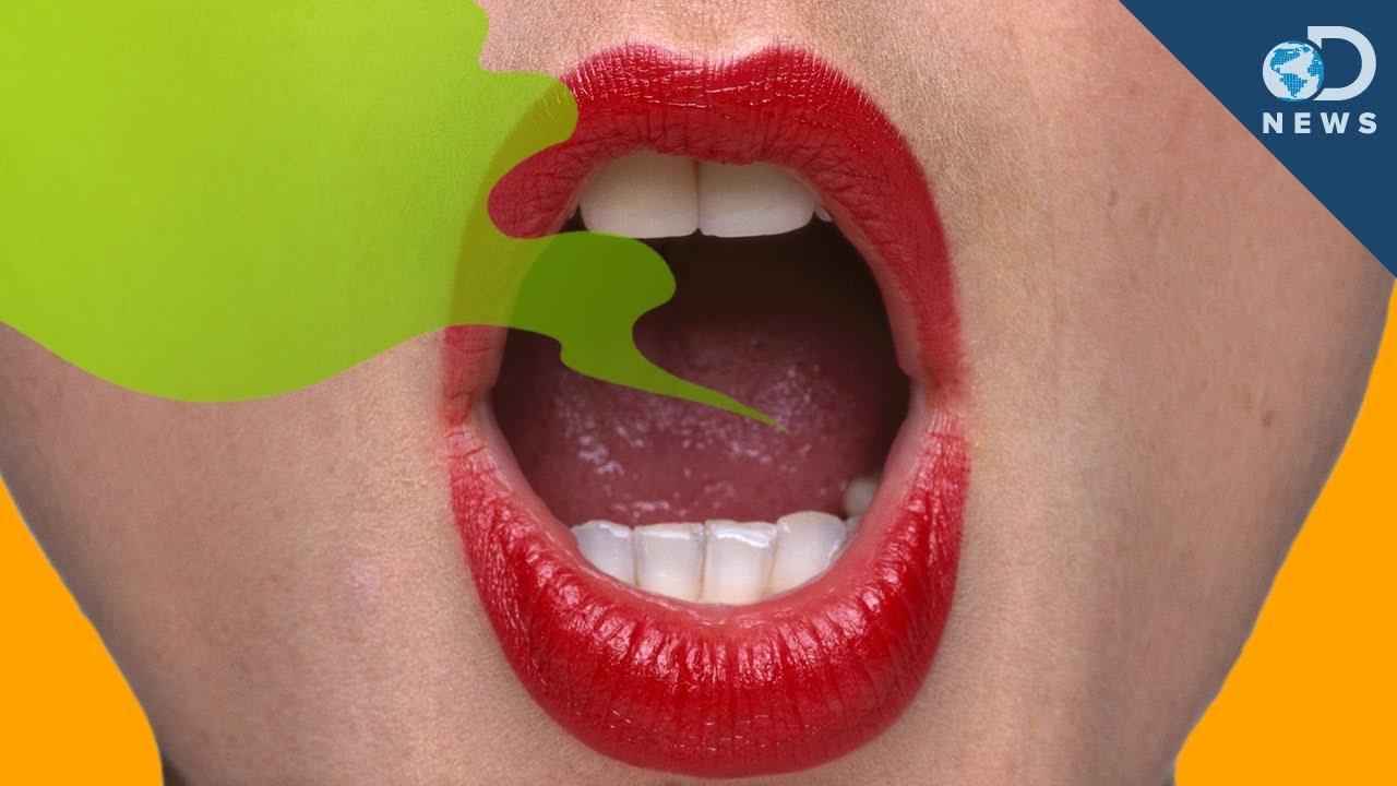 girls with bad breath