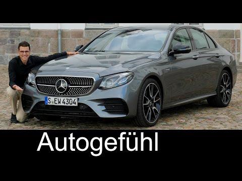 Mercedes-AMG E43 FULL REVIEW test driven V6 400 hp E-Class E-Klasse sedan Limousine