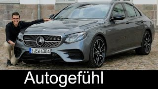 Mercedes-AMG E43 FULL REVIEW test driven V6 400 hp E-Class E-Klasse sedan Limousine