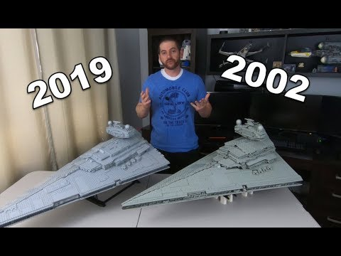 Comparing 2002 and 2019 UCS Star Destroyers