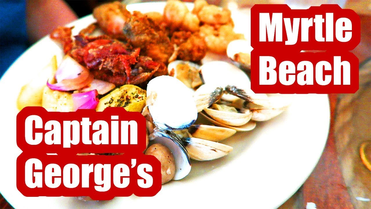 captain georges seafood buffet myrtle beach 2018 review