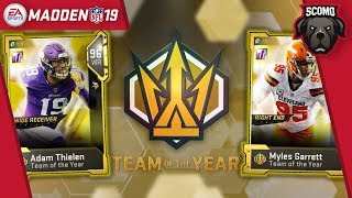 Another TOTY Pull! New Team Of The Year Players In Packs! Madden NFL 19