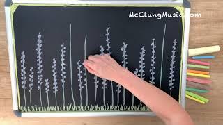Lavender's Blue ♫ Chalk Art Lullaby (Disney's Cinderella)