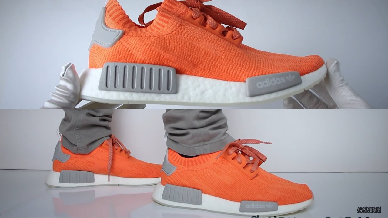 Adidas NMD R1 ''Trace Orange'' (review