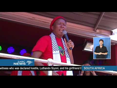 Malema Calls On Government, Business To Cut All Ties With Israel