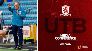 Media Conference | Neil Warnock's First Since Being Named as Permanent Manager