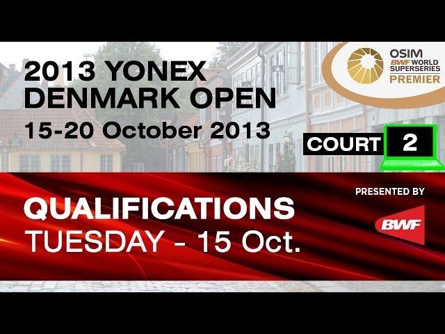 QR (Court 2) -XD - G.M.Fernaldi/R.A.Pradipta vs J.Schoettler/J.Goliszewski -2013 Yonex Denmark Open