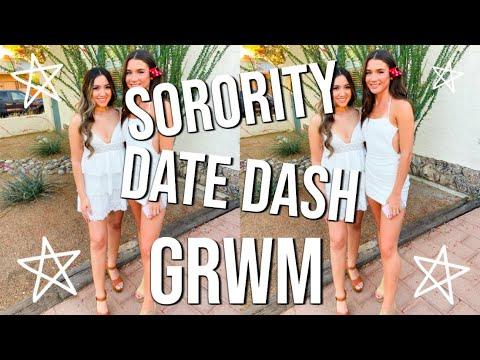 SORORITY DATE DASH // GET READY WITH ME + FABFITFUN UNBOXING!!