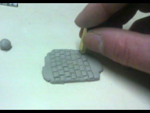 Como hacer un marcador de ladrillos y adoquines en arcilla for Moldes para adoquines