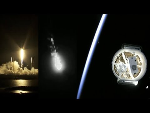 Falcon 9 launches CRS-17 Dragon & Falcon 9 first stage landing