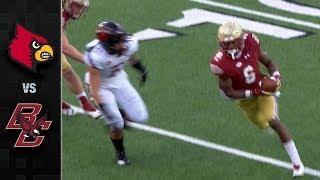 Louisville vs. Boston College Football Highlights (2018)