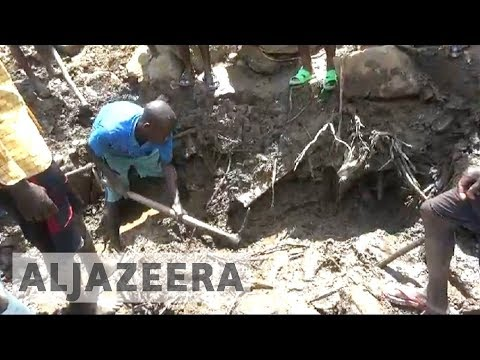 DR Congo landslide kills at least 200