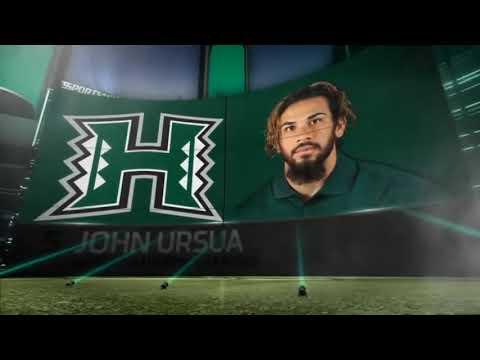 Hawai'i Warriors: John Ursua 2018 Highlights