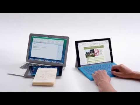 Surface Pro 3 vs. MacBook Air -- Crowded Commercial
