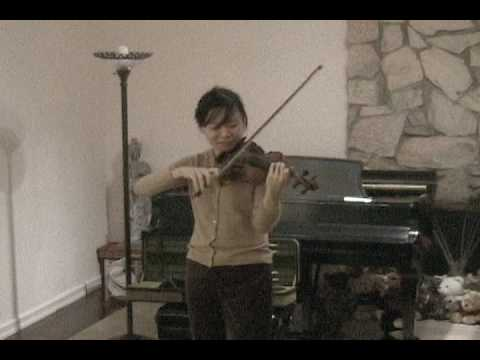 Bin Huang plays Paganini caprice No. 24