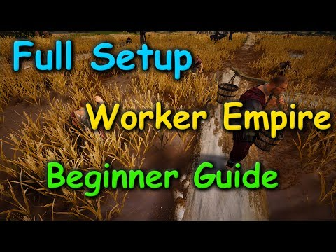 Full Worker Empire Setup from 0 for Beginners | Black Desert Online | Worker Empire (ep4).