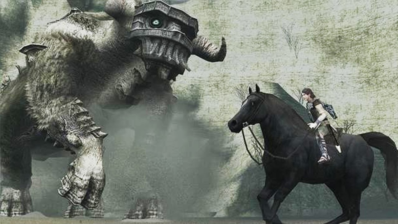 Shadow Of The Colossus Ps4 Wallpaper