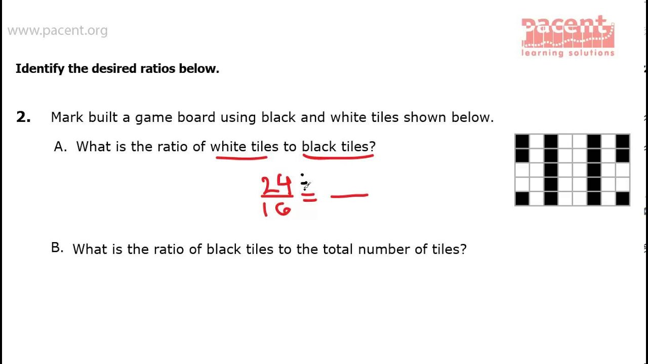 Common Core Mathematics Grade 6 Ratio Amp Proportions 1 Question 2