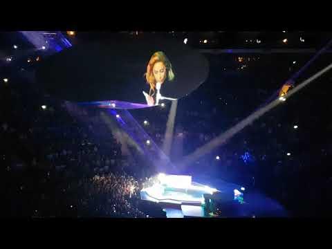 Lady Gaga - Speech/ The Edge of Glory - Joanne World Tour