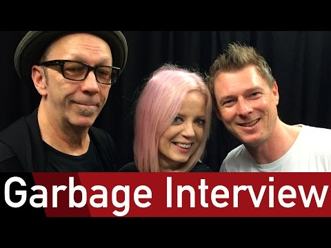 Garbage only please themselves - ROCK ANTENNE Interview