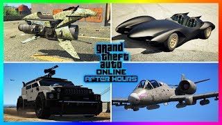 GTA Online After Hours DLC Update All NEW Unreleased Cars/Vehicles - Features, Customization & MORE!