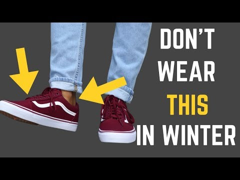 7 Things NO MAN Should Wear in Fall/Winter