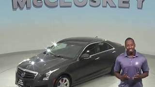 G98688NC Used 2014 Cadillac ATS 2.5L Luxury RWD 4D Sedan Gray Test Drive, Review, For Sale -
