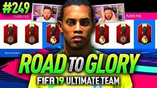 FIFA 19 ROAD TO GLORY #249 - PREMIER LEAGUE TOTS REWARDS!!