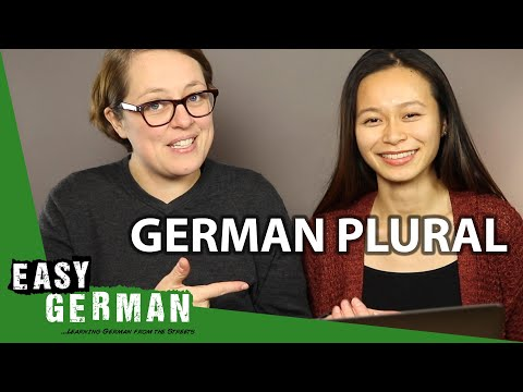 Learning the German Plural | Super Easy German (127)