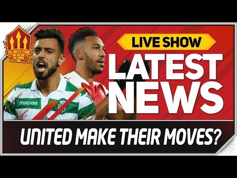 Bruno Fernandes Final Bid & Aubameyang Bid? Man Utd Transfer News