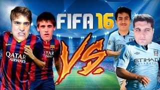 Coelho e Diddy x Davy Jones e Bruno Gameplay - FIFA 16