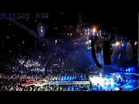 Coldplay feat JayZ  Lost+ Every Teardrop Is a Waterfall  Brooklyn Barclays Center NYE 123112