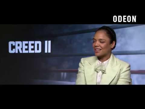 Tessa Thompson And Steven Caple Jr. Talk Creed II | ODEON