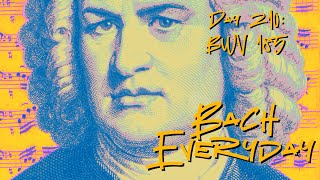 "Bach Everyday 210: Bach Bass Aria ""Das ist der Christen Kunst"" from BWV 185"
