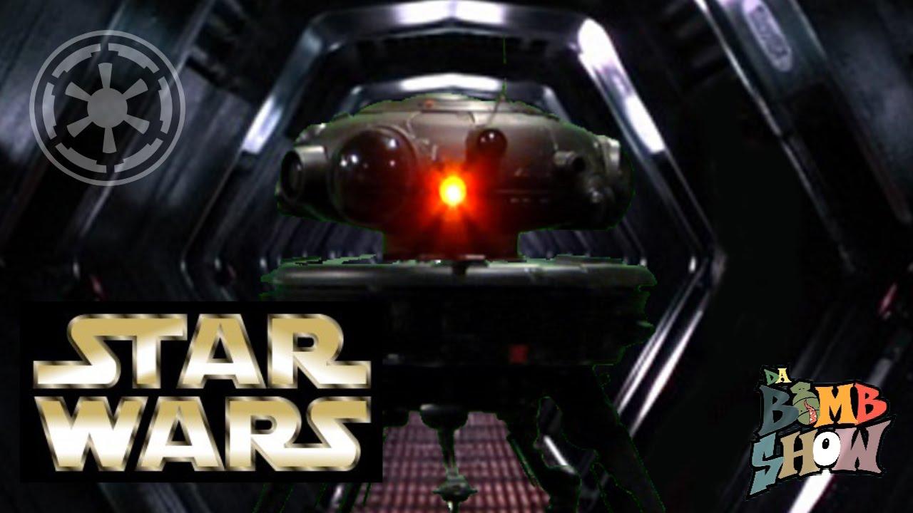 osw.zone Sideshow Disney Star Wars 1:6 scale Imperial Probe Droid - Elite Showcase - Da B...