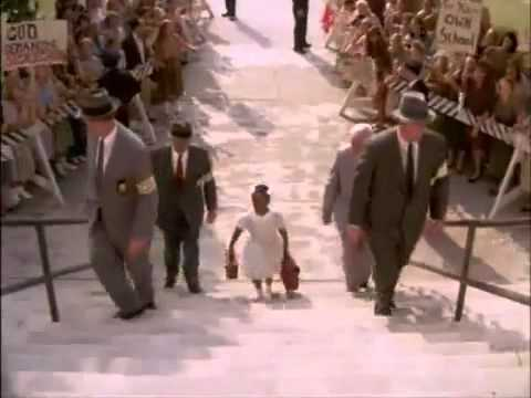 Ruby Bridges The Movie - Angry White Crowd
