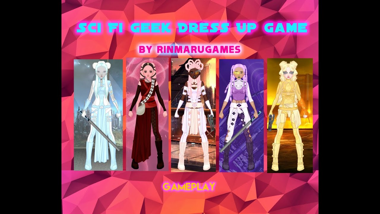 Sci Fi Geek Dress Up Game- Fun Online Games for Girls Teens - YouTube