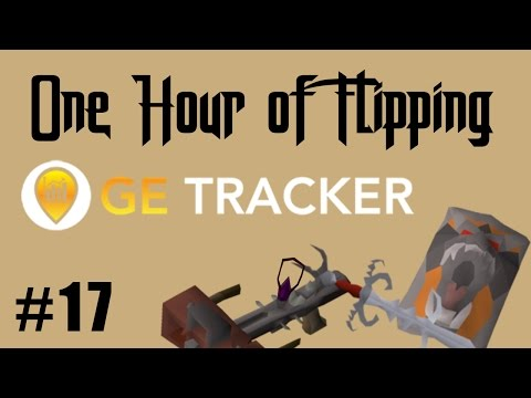 [OSRS] How I Made 700k in 1 Hour of Flipping G.E Tracker Recommended Items Only!  [Episode #17]