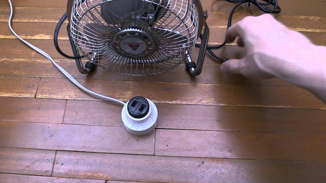 Convert Light Socket To Ac Youtube Wiring 5a Lighting Sockets
