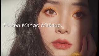 Frozen Mango Makeup Look 夏日冻芒果妆容