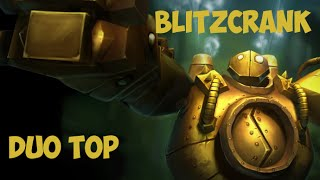 Blitzcrank support duo top con Irelia PENTA NO oficial y el mejor Graves del world