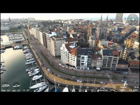 Oostende Le Port et la Gare SNCB