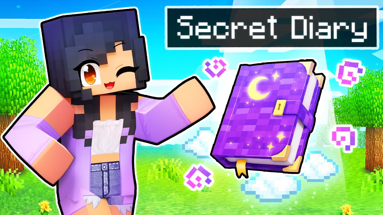 Download My SECRET DIARY In Minecraft!