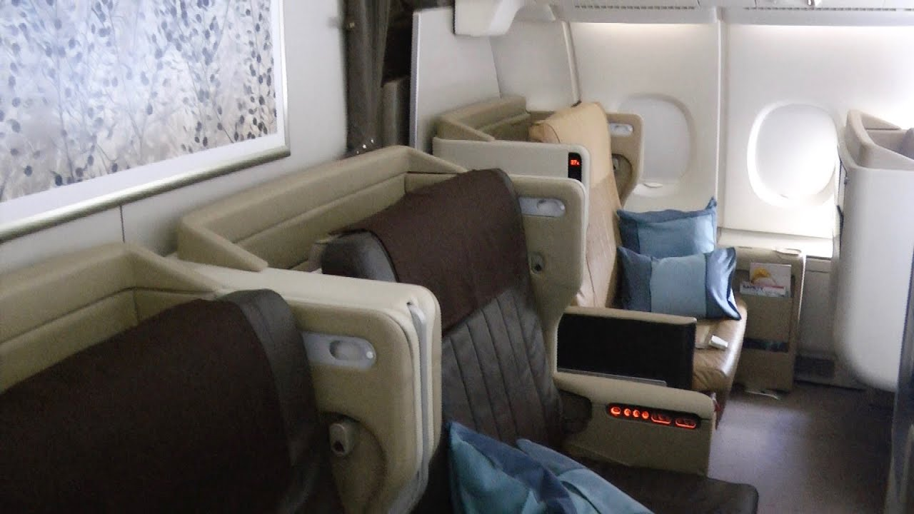 A380-800 Business Class Singapore Airlines SQ232: Sydney ...