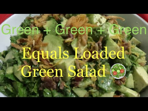 loaded-with-healthy-greens-avocado-salad