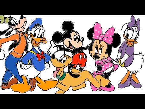 How To Draw Disney's Mickey Mouse Clubhouse Characters Compilation In Full
