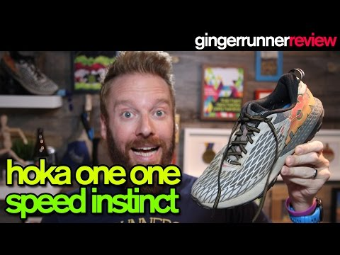 HOKA ONE ONE SPEED INSTINCT REVIEW | The Ginger Runner