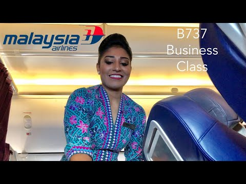 Malaysia Airlines B737 Business Class eXperience: MH79 HKG-KUL