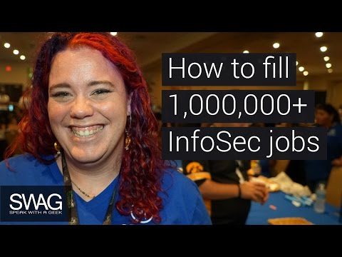 Hiring 1M InfoSec Pros - Information Security - Cyber Security Jobs - SWAG